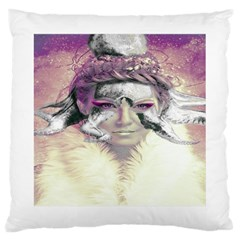 Tentacles Of Pain Large Cushion Case (two Sided)  by FunWithFibro