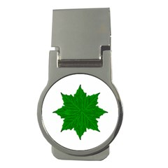 Decorative Ornament Isolated Plants Money Clip (round) by dflcprints