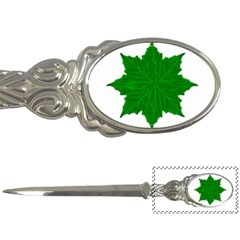Decorative Ornament Isolated Plants Letter Opener by dflcprints
