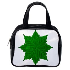 Decorative Ornament Isolated Plants Classic Handbag (one Side) by dflcprints