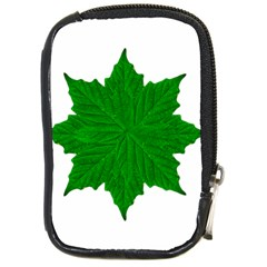 Decorative Ornament Isolated Plants Compact Camera Leather Case by dflcprints