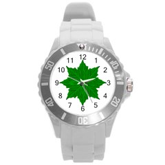 Decorative Ornament Isolated Plants Plastic Sport Watch (large) by dflcprints