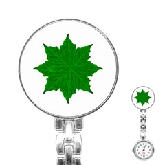 Decorative Ornament Isolated Plants Stainless Steel Nurses Watch by dflcprints
