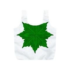 Decorative Ornament Isolated Plants Reusable Bag (s)