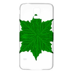 Decorative Ornament Isolated Plants Samsung Galaxy S5 Back Case (white) by dflcprints