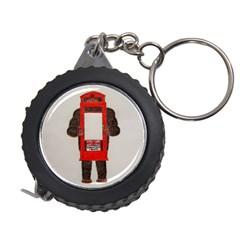 Big Foot In Phonebox  Measuring Tape by creationtruth