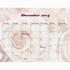 Chava Anniversary By Chava Landau   Wall Calendar 11  X 8 5  (18 Months)   3dwr0u8i1779   Www Artscow Com Dec 2014
