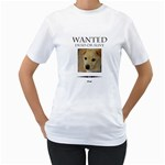 wanted - Women s T-Shirt (White)