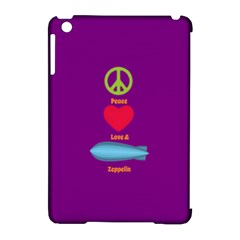 Peace Love & Zeppelin Apple Ipad Mini Hardshell Case (compatible With Smart Cover) by SaraThePixelPixie