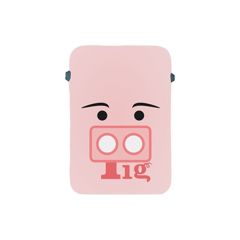 Pig By X   Apple Ipad Mini Protective Soft Case   8thc5o7u1ura   Www Artscow Com Front