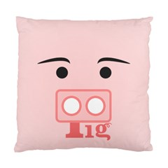 Pig By X   Standard Cushion Case (two Sides)   9cmmodjg48e5   Www Artscow Com Front