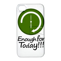 Work Schedule Concept Illustration Apple Iphone 4/4s Hardshell Case With Stand by dflcprints