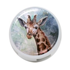 Giraffe 4 Port Usb Hub (one Side) by ArtByThree