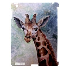 Giraffe Apple Ipad 3/4 Hardshell Case (compatible With Smart Cover) by ArtByThree