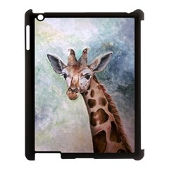 Giraffe Apple Ipad 3/4 Case (black) by ArtByThree