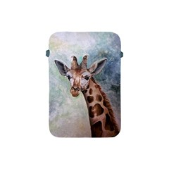 Giraffe Apple Ipad Mini Protective Sleeve by ArtByThree
