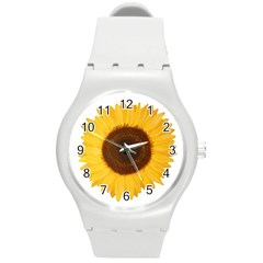 Sunflower Plastic Sport Watch (medium) by sdunleveyartwork