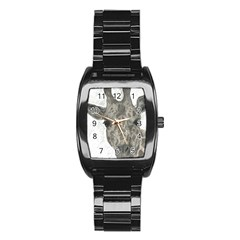 Giraffe Stainless Steel Barrel Watch by sdunleveyartwork