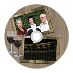 Time for Wine CD Wall Clock