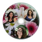 Flowers CD Wall Clock