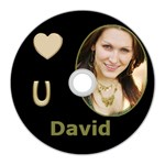 Love you Wall Clock - CD Wall Clock