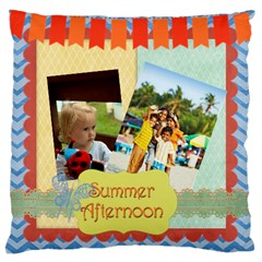 Summer By Summer Time    Large Cushion Case (two Sides)   P70i2b9l2tlp   Www Artscow Com Back