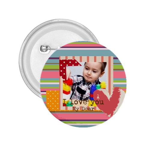 Kids By Kids   2 25  Button   Cdzvoj3hut3c   Www Artscow Com Front
