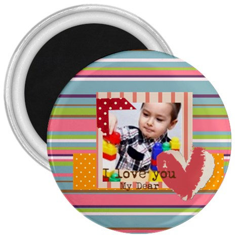 Kids By Kids   3  Magnet   2iwquz9yqcsd   Www Artscow Com Front