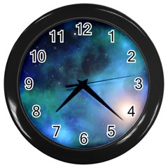 Amazing Universe Wall Clock (black) by StuffOrSomething