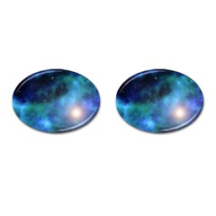 Amazing Universe Cufflinks (oval) by StuffOrSomething