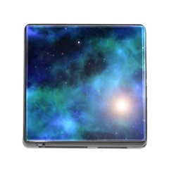 Amazing Universe Memory Card Reader With Storage (square) by StuffOrSomething