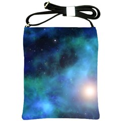 Amazing Universe Shoulder Sling Bag by StuffOrSomething