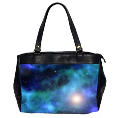 Amazing Universe Oversize Office Handbag (two Sides) by StuffOrSomething