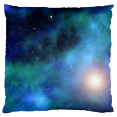 Amazing Universe Large Cushion Case (single Sided)  by StuffOrSomething