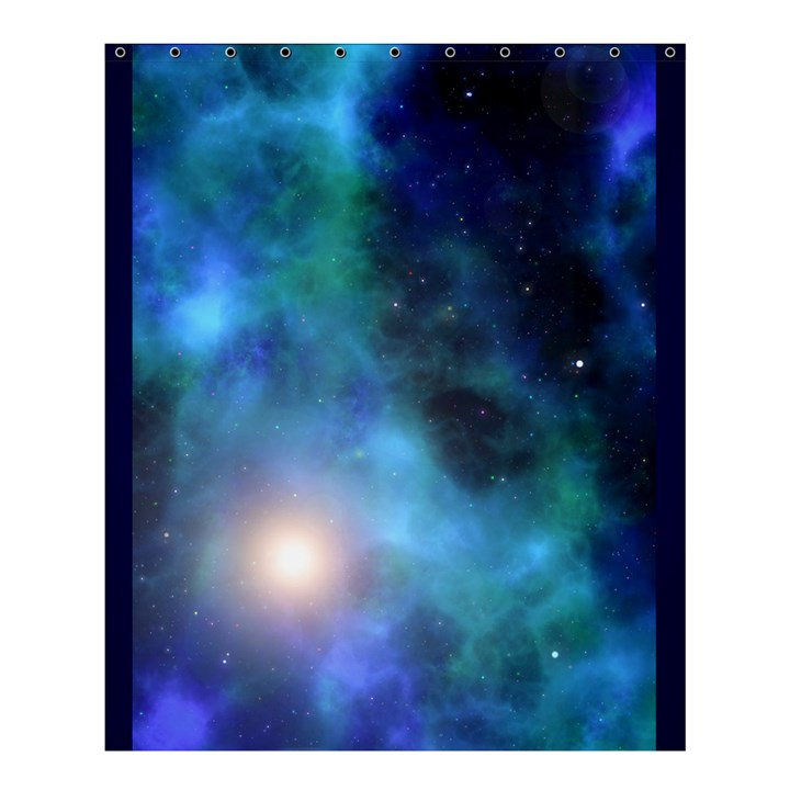Amazing Universe Shower Curtain 60  x 72  (Medium)