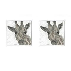 Giraffe Cufflinks (Square)