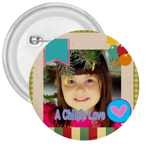Kids By Kids   3  Button   W5zd3d8sqtt1   Www Artscow Com Front