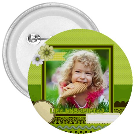 Kids By Kids   3  Button   90nyspy71idl   Www Artscow Com Front