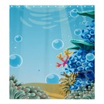 ocean - Shower Curtain 66  x 72  (Large)