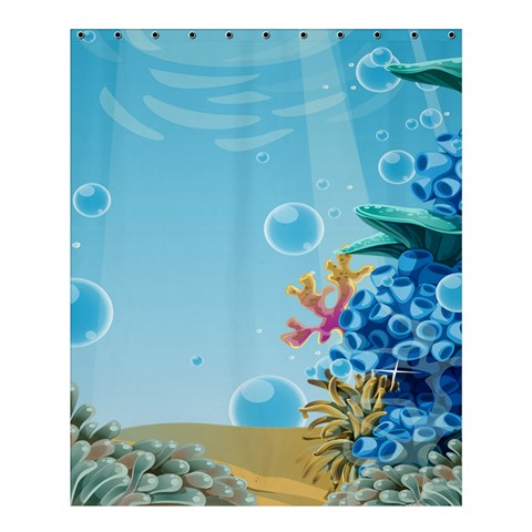 Ocean By X   Shower Curtain 60  X 72  (medium)   4zbpgpbgg4ho   Www Artscow Com 54.25 x65.71 Curtain