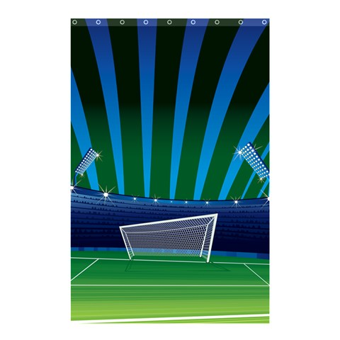 Sport By X   Shower Curtain 48  X 72  (small)   T82i8tbcgod4   Www Artscow Com 42.18 x64.8 Curtain