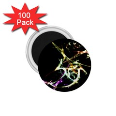 Futuristic Abstract Dance Shapes Artwork 1 75  Button Magnet (100 Pack) by dflcprints