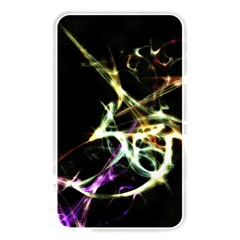 Futuristic Abstract Dance Shapes Artwork Memory Card Reader (rectangular) by dflcprints