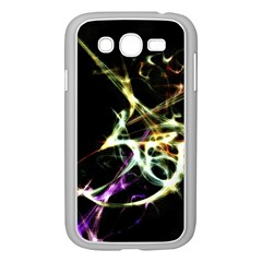 Futuristic Abstract Dance Shapes Artwork Samsung Galaxy Grand Duos I9082 Case (white) by dflcprints