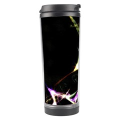 Futuristic Abstract Dance Shapes Artwork Travel Tumbler