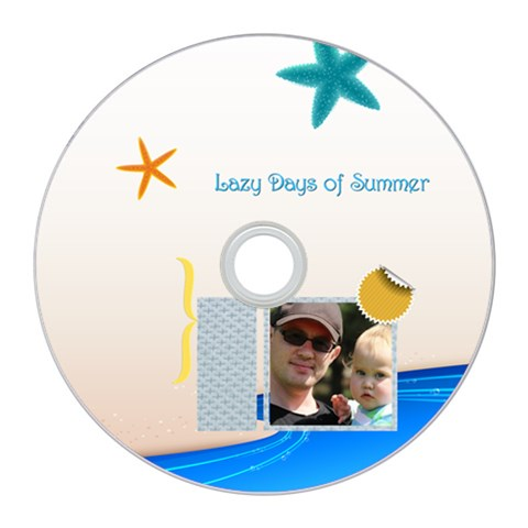 Summer By Summer Time    Cd Wall Clock   Sfxn8vdzw0yl   Www Artscow Com Front