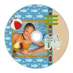 summer - CD Wall Clock