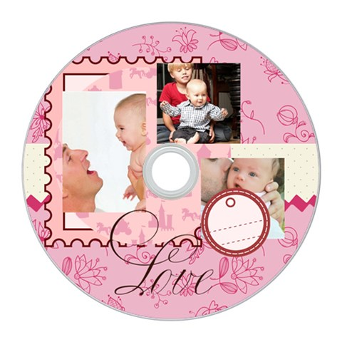 Baby By Baby   Cd Wall Clock   8sj3l0uwz28k   Www Artscow Com Front