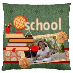 Graduation, School Life By School   Large Cushion Case (two Sides)   Vtsde40tifqy   Www Artscow Com Front