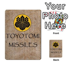 Seven Spears Basic Toyotomi By T Van Der Burgt   Multi Purpose Cards (rectangle)   Oql8jnso4wmm   Www Artscow Com Back 51